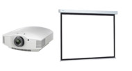 Videoproiectoare Videoproiector Sony VPL-HW65ES + Projecta COMPACT RF ELECTROL Matte White 173x300cmVideoproiector Sony VPL-HW65ES + Projecta COMPACT RF ELECTROL Matte White 173x300cm