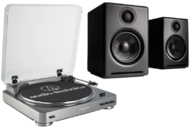 Pachete PROMO STEREO Pachet PROMO Audio-Technica AT-LP60USB + Audioengine A2+ WirelessPachet PROMO Audio-Technica AT-LP60USB + Audioengine A2+ Wireless