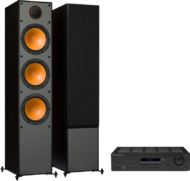 Pachete PROMO STEREO Monitor Audio Monitor 300 + Cambridge Audio Topaz SR20Monitor Audio Monitor 300 + Cambridge Audio Topaz SR20