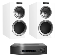 Pachete PROMO STEREO Pachet PROMO KEF R300 + Cambridge Audio CXA60Pachet PROMO KEF R300 + Cambridge Audio CXA60