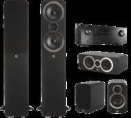 Pachete PROMO SURROUND Pachet PROMO Q Acoustics 3050i pachet 5.0 + Denon AVR-X2500HPachet PROMO Q Acoustics 3050i pachet 5.0 + Denon AVR-X2500H