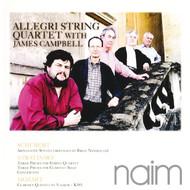 Muzica CD CD Naim Allegri String Quartet w James Campbell: Schubert, Stravinsky, MozartCD Naim Allegri String Quartet w James Campbell: Schubert, Stravinsky, Mozart