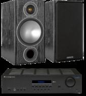 Pachete PROMO STEREO Monitor Audio Bronze 2 + Cambridge Audio Topaz SR20Monitor Audio Bronze 2 + Cambridge Audio Topaz SR20