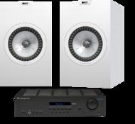 Pachete PROMO STEREO KEF Q350 + Cambridge Audio Topaz SR20KEF Q350 + Cambridge Audio Topaz SR20