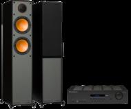 Pachete PROMO STEREO Monitor Audio Monitor 200 + Cambridge Audio Topaz SR20Monitor Audio Monitor 200 + Cambridge Audio Topaz SR20
