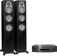 Pachete PROMO STEREO Monitor Audio Silver 300 + Cambridge Audio CXA80Monitor Audio Silver 300 + Cambridge Audio CXA80