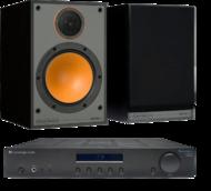 Pachete PROMO STEREO Monitor Audio Monitor 100 + Cambridge Audio Topaz AM10Monitor Audio Monitor 100 + Cambridge Audio Topaz AM10