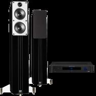 Pachete PROMO STEREO Q Acoustics Concept 40 + Emotiva TA-100Q Acoustics Concept 40 + Emotiva TA-100