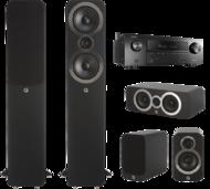 Pachete PROMO SURROUND Pachet PROMO Q Acoustics 3050i pachet 5.0 + Denon AVR-X1500HPachet PROMO Q Acoustics 3050i pachet 5.0 + Denon AVR-X1500H