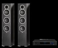 Pachete PROMO STEREO Elac Debut F6 + Emotiva BasX TA-100Elac Debut F6 + Emotiva BasX TA-100