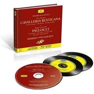 Muzica CD CD Deutsche Grammophon (DG) Cavalleria Rusticana / Pagliacci ( Karajan, Bergonzi, Cossotto, Carlyle ) CD + BluRay AudioCD Deutsche Grammophon (DG) Cavalleria Rusticana / Pagliacci ( Karajan, Bergonzi, Cossotto, Carlyle ) CD + BluRay Audio