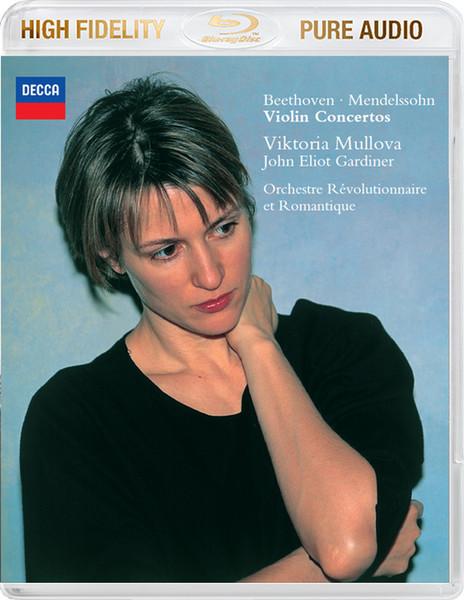 DVD & Bluray BLURAY Universal Records Beethoven / Mendelssohn - Violin Concertos ( Mullova, Gardiner ) < BluRay Audio >BLURAY Universal Records Beethoven / Mendelssohn - Violin Concertos ( Mullova, Gardiner ) < BluRay Audio >