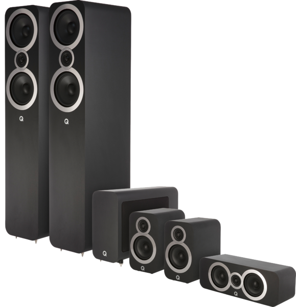 Pachete PROMO SURROUND Pachet PROMO Q Acoustics 3050i pachet 5.1Pachet PROMO Q Acoustics 3050i pachet 5.1