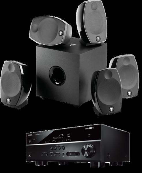 Pachete PROMO SURROUND Pachet PROMO Focal Sib EVO 5.1 + Yamaha RX-V485Pachet PROMO Focal Sib EVO 5.1 + Yamaha RX-V485