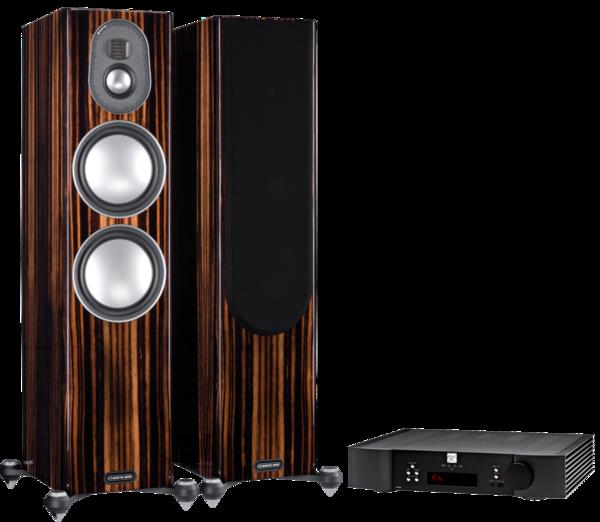 Pachete PROMO STEREO Pachet PROMO Monitor Audio Gold 300 (5G) + MOON by Simaudio 340i XPachet PROMO Monitor Audio Gold 300 (5G) + MOON by Simaudio 340i X