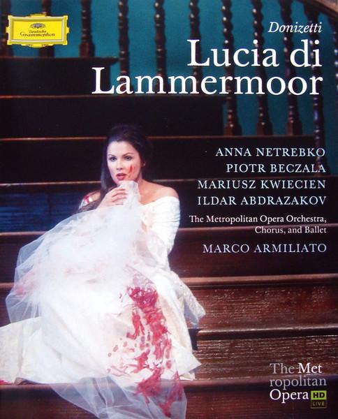 DVD & Bluray BLURAY Deutsche Grammophon (DG) Donizetti - Lucia Di Lammermoor ( Netrebko, Beczala, MET )BLURAY Deutsche Grammophon (DG) Donizetti - Lucia Di Lammermoor ( Netrebko, Beczala, MET )