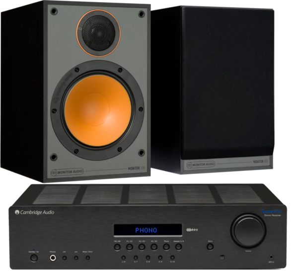 Pachete PROMO STEREO Pachet PROMO Monitor Audio Monitor 100 + Cambridge Audio Topaz SR20Pachet PROMO Monitor Audio Monitor 100 + Cambridge Audio Topaz SR20
