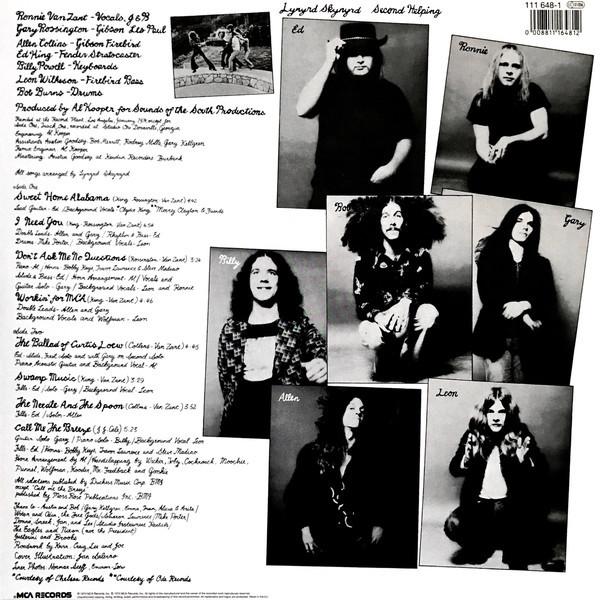 Viniluri VINIL Universal Records Lynyrd Skynyrd - Second HelpingVINIL Universal Records Lynyrd Skynyrd - Second Helping