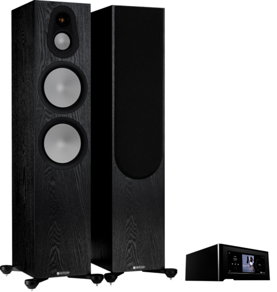 Pachete PROMO STEREO Pachet PROMO Monitor Audio Silver 500 (7G) + NAD M10 V2Pachet PROMO Monitor Audio Silver 500 (7G) + NAD M10 V2
