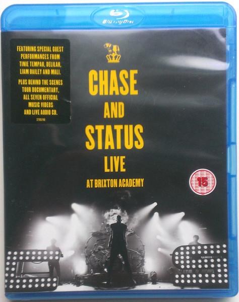 DVD & Bluray BLURAY Universal Records Chase And Status - Live At Brixton AcademyBLURAY Universal Records Chase And Status - Live At Brixton Academy