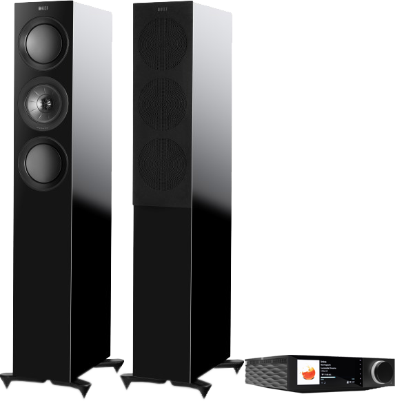 Pachete PROMO STEREO Pachet PROMO KEF R5 + Cambridge Audio Evo 150Pachet PROMO KEF R5 + Cambridge Audio Evo 150