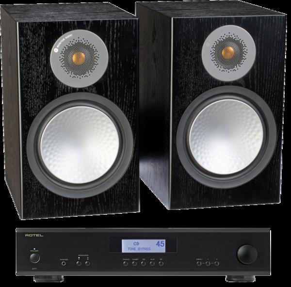 Pachete PROMO STEREO Pachet PROMO Monitor Audio Silver 100 + Rotel A-11Pachet PROMO Monitor Audio Silver 100 + Rotel A-11
