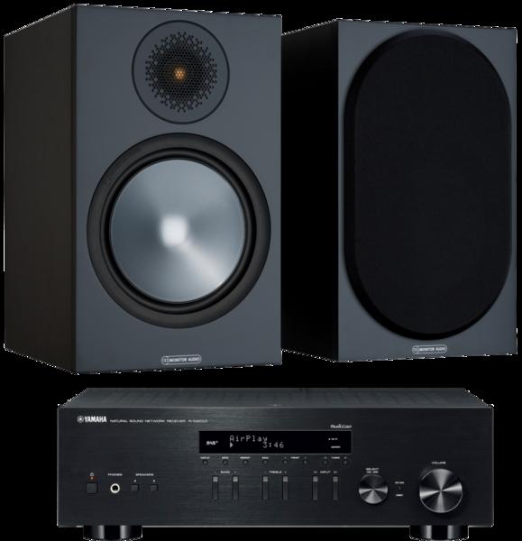 Pachete PROMO STEREO Pachet PROMO Monitor Audio Bronze 100 + Yamaha R-N303DPachet PROMO Monitor Audio Bronze 100 + Yamaha R-N303D