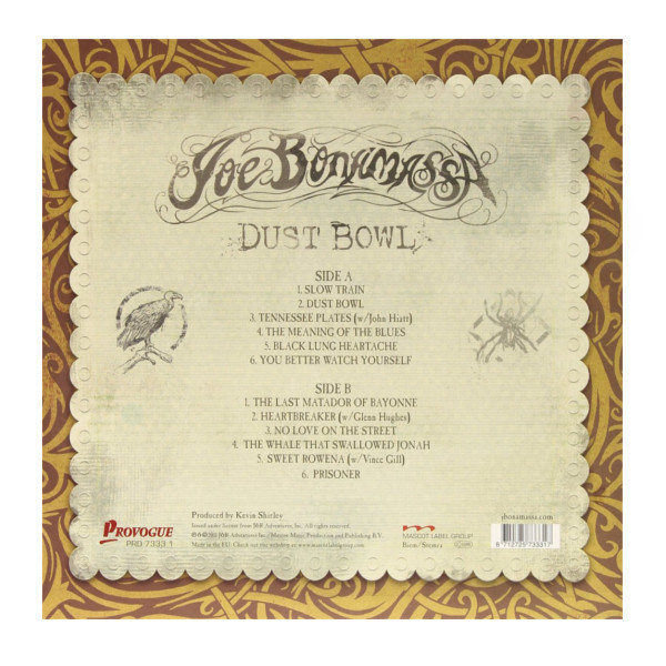 Viniluri VINIL Universal Records Joe Bonamassa - Dust BowlVINIL Universal Records Joe Bonamassa - Dust Bowl