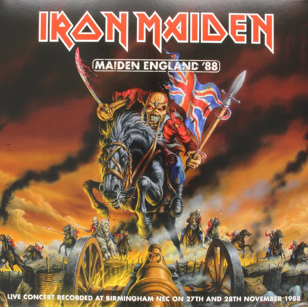 Viniluri VINIL Universal Records Iron Maiden - Maiden England '88VINIL Universal Records Iron Maiden - Maiden England '88