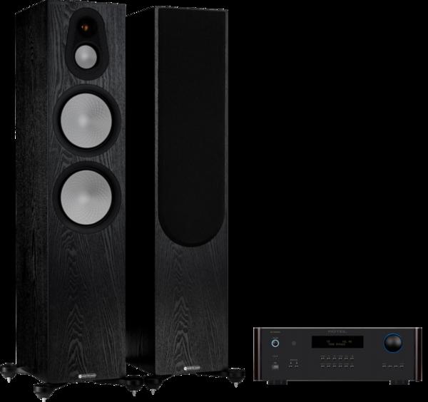 Pachete PROMO STEREO Pachet PROMO Monitor Audio Silver 500 (7G) + Rotel RA-1572 MKIIPachet PROMO Monitor Audio Silver 500 (7G) + Rotel RA-1572 MKII