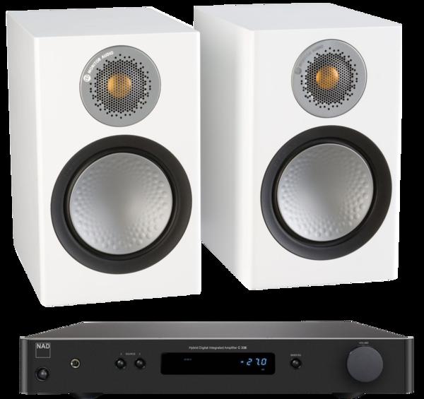 Pachete PROMO STEREO Pachet PROMO Monitor Audio Silver 50 + NAD C 338Pachet PROMO Monitor Audio Silver 50 + NAD C 338