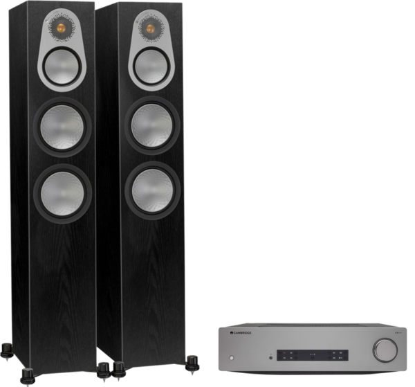 Pachete PROMO STEREO Pachet PROMO Monitor Audio Silver 300 + Cambridge Audio CXA81Pachet PROMO Monitor Audio Silver 300 + Cambridge Audio CXA81