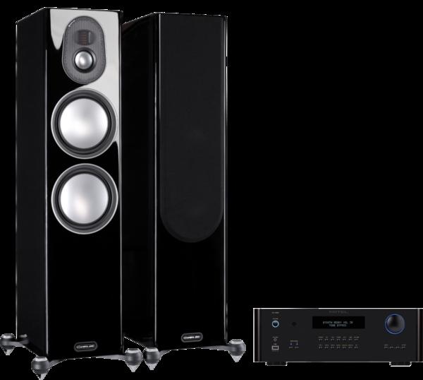 Pachete PROMO STEREO Pachet PROMO Monitor Audio Gold 300 (5G) + Rotel RA-1592Pachet PROMO Monitor Audio Gold 300 (5G) + Rotel RA-1592