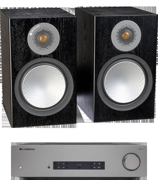 Pachete PROMO STEREO Pachet PROMO Monitor Audio Silver 100 + Cambridge Audio CXA61Pachet PROMO Monitor Audio Silver 100 + Cambridge Audio CXA61