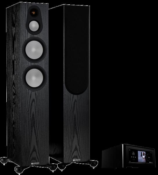 Pachete PROMO STEREO Pachet PROMO Monitor Audio Silver 300 (7G) + NAD M10 V2Pachet PROMO Monitor Audio Silver 300 (7G) + NAD M10 V2