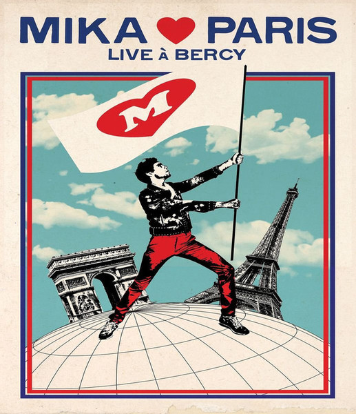 DVD & Bluray BLURAY Universal Records Mika Loves Paris - Live A BercyBLURAY Universal Records Mika Loves Paris - Live A Bercy