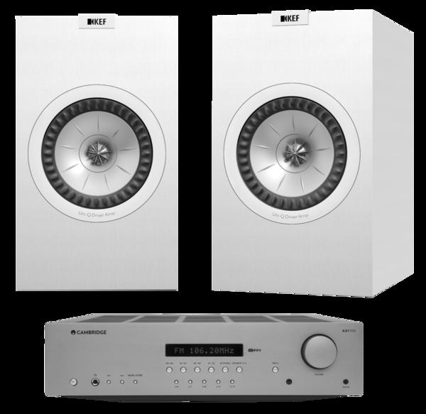 Pachete PROMO STEREO Pachet PROMO KEF Q350 + Cambridge Audio AXR100Pachet PROMO KEF Q350 + Cambridge Audio AXR100