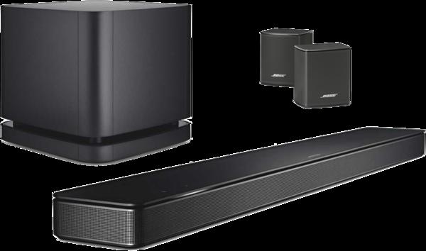 Pachete PROMO SURROUND Pachet PROMO Bose Soundbar 500 + Bass Module 500 + Bose Surround SpeakersPachet PROMO Bose Soundbar 500 + Bass Module 500 + Bose Surround Speakers