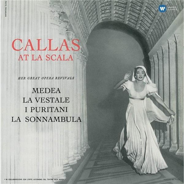 Viniluri VINIL WARNER BROTHERS Maria Callas - Callas At La ScalaVINIL WARNER BROTHERS Maria Callas - Callas At La Scala