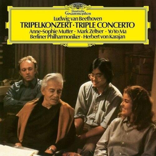 Viniluri VINIL Universal Records Beethoven - Triple Concerto ( Karajan, Mutter, Zeltser, Yo-Yo Ma )VINIL Universal Records Beethoven - Triple Concerto ( Karajan, Mutter, Zeltser, Yo-Yo Ma )
