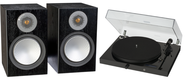 Pachete PROMO STEREO Pachet PROMO ProJect Juke Box E + Monitor Audio Silver 100Pachet PROMO ProJect Juke Box E + Monitor Audio Silver 100