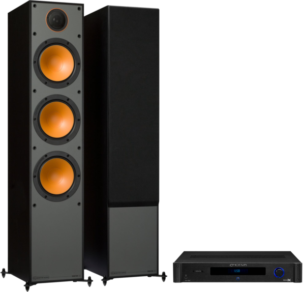 Pachete PROMO STEREO Pachet PROMO Monitor Audio Monitor 300 + Emotiva BasX TA-100Pachet PROMO Monitor Audio Monitor 300 + Emotiva BasX TA-100