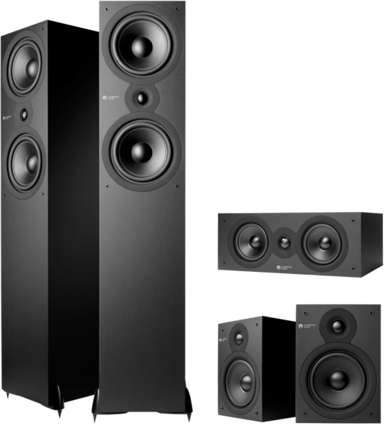 Pachete PROMO SURROUND Pachet PROMO Cambridge Audio SX80 5.0 pack Matt BlackPachet PROMO Cambridge Audio SX80 5.0 pack Matt Black
