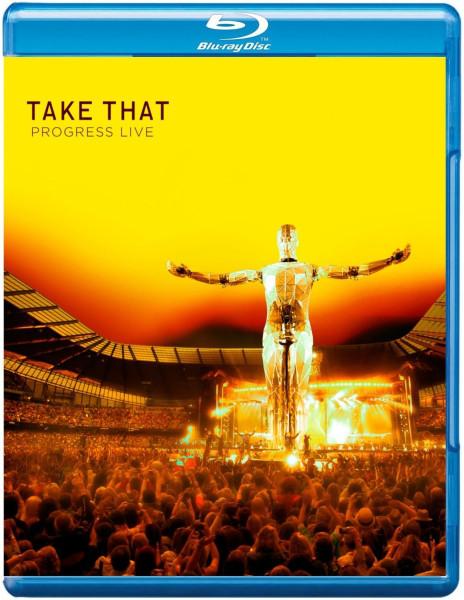 DVD & Bluray BLURAY Universal Records Take That - Progress LiveBLURAY Universal Records Take That - Progress Live