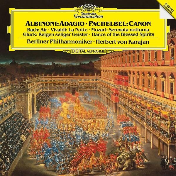 Viniluri VINIL Universal Records Albinoni: Adagio / Pachelbel: Canon - Berliner Philharmoniker, KarajanVINIL Universal Records Albinoni: Adagio / Pachelbel: Canon - Berliner Philharmoniker, Karajan