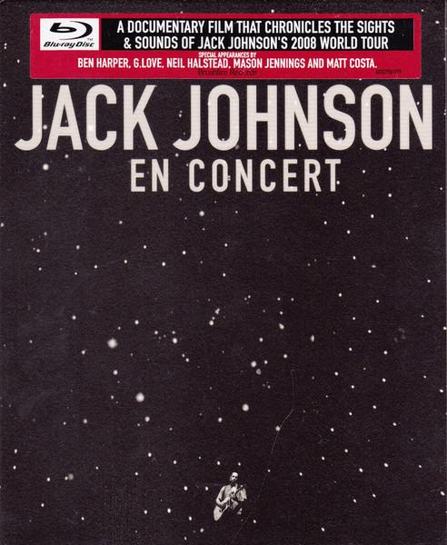 DVD & Bluray BLURAY Universal Records Jack Johnson - En ConcertBLURAY Universal Records Jack Johnson - En Concert