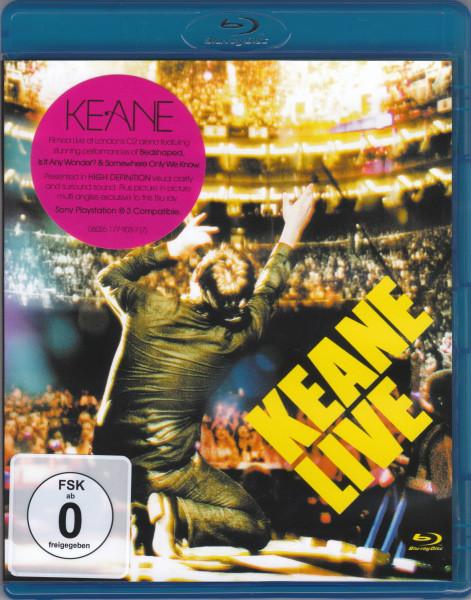 DVD & Bluray BLURAY Universal Records Keane - LiveBLURAY Universal Records Keane - Live