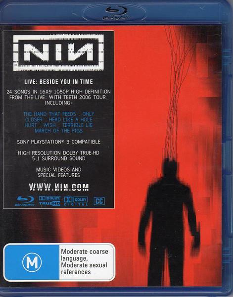 DVD & Bluray BLURAY Universal Records Nine Inch Nails - Live: Beside You In TimeBLURAY Universal Records Nine Inch Nails - Live: Beside You In Time