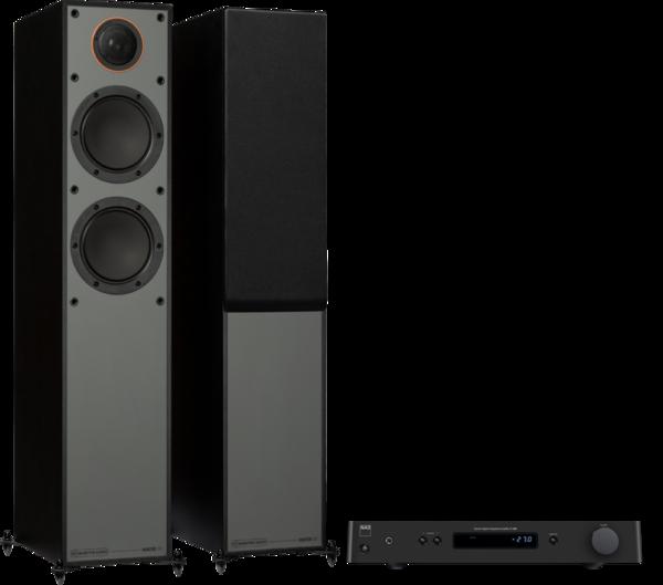 Pachete PROMO STEREO Pachet PROMO Monitor Audio Monitor 200 Black Cone + NAD C 328Pachet PROMO Monitor Audio Monitor 200 Black Cone + NAD C 328