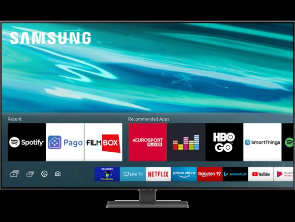 Televizoare TV Samsung 65Q80A, 163 cm, Smart, 4K Ultra HD, QLEDTV Samsung 65Q80A, 163 cm, Smart, 4K Ultra HD, QLED